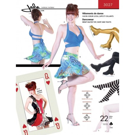 Jalie Schnittmuster Dancewear 3027 - Ice Expression