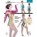 Jalie Schnittmuster Gymnastik Body 3026