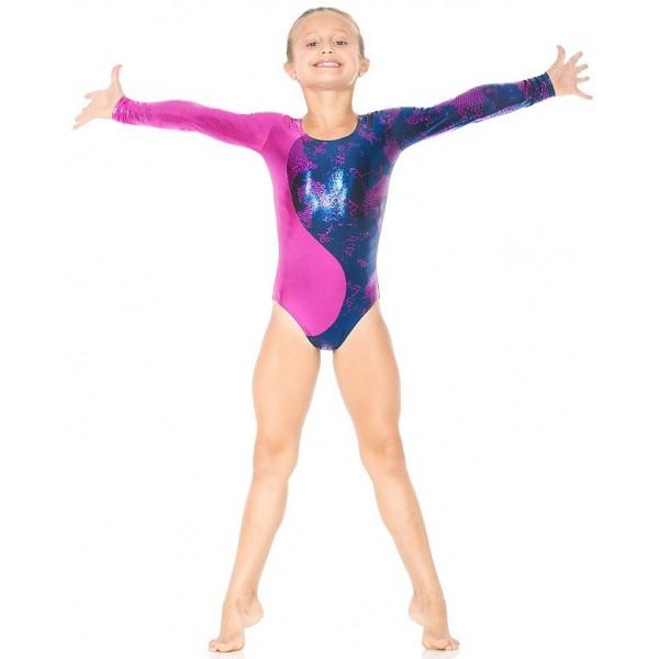 Mondor Gymnastikanzug Snake 17830, langarm - Ice Expression