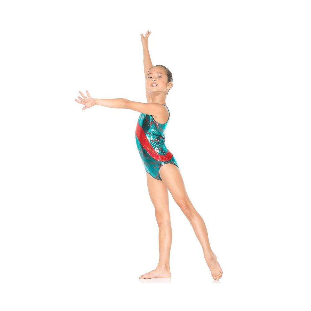 Mondor Gymnastikanzug Lightning 17831, ohne Ärmel - Ice Expression