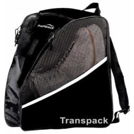 Transpack Ice - Schlittschuh-Rucksack schwarz