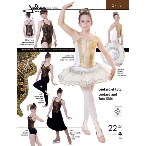 Jalie Schnittmuster Ballettanzug und Kleid 3136