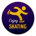 "Ansteckbutton ""Enjoy Skating"""