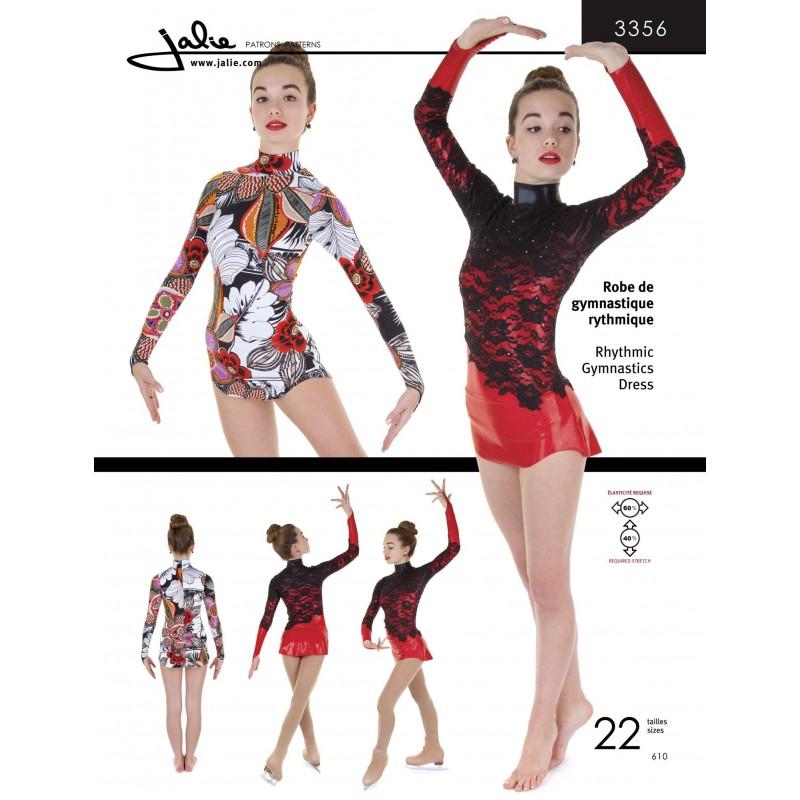 Jalie Schnittmuster Gymnastikanzug & Tutu 2915 - Ice Expression