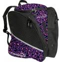 Transpack Ice - Schlittschuh-Rucksack Purple-Pink Leopard