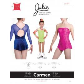 Jalie Schnittmuster Eiskunstlaufkleid Carmen 3465
