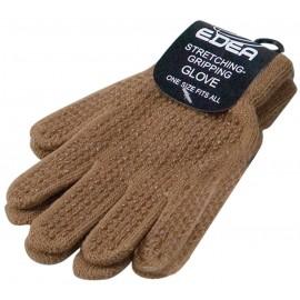 Edea Eiskunstlauf Handschuhe, braun
