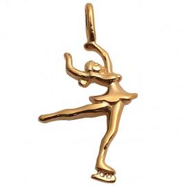 Goldanhänger Pirouette