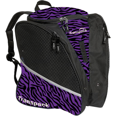 Transpack Ice - Schlittschuh - Purple Zebra
