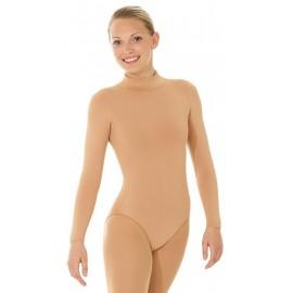 Eiskunstlauf Body Mondor 11822 caramel