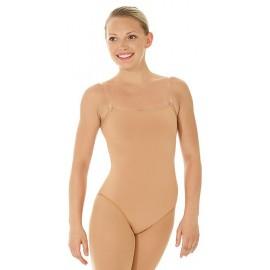 Eiskunstlauf Body Mondor 11809 caramel
