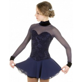 "EliteXpression Eiskunstlaufkleid ""Classic"" navy"
