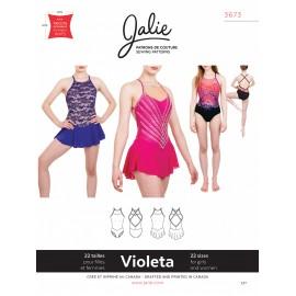 Jalie Schnittmuster Eiskunstlaufkleid Violeta 3673