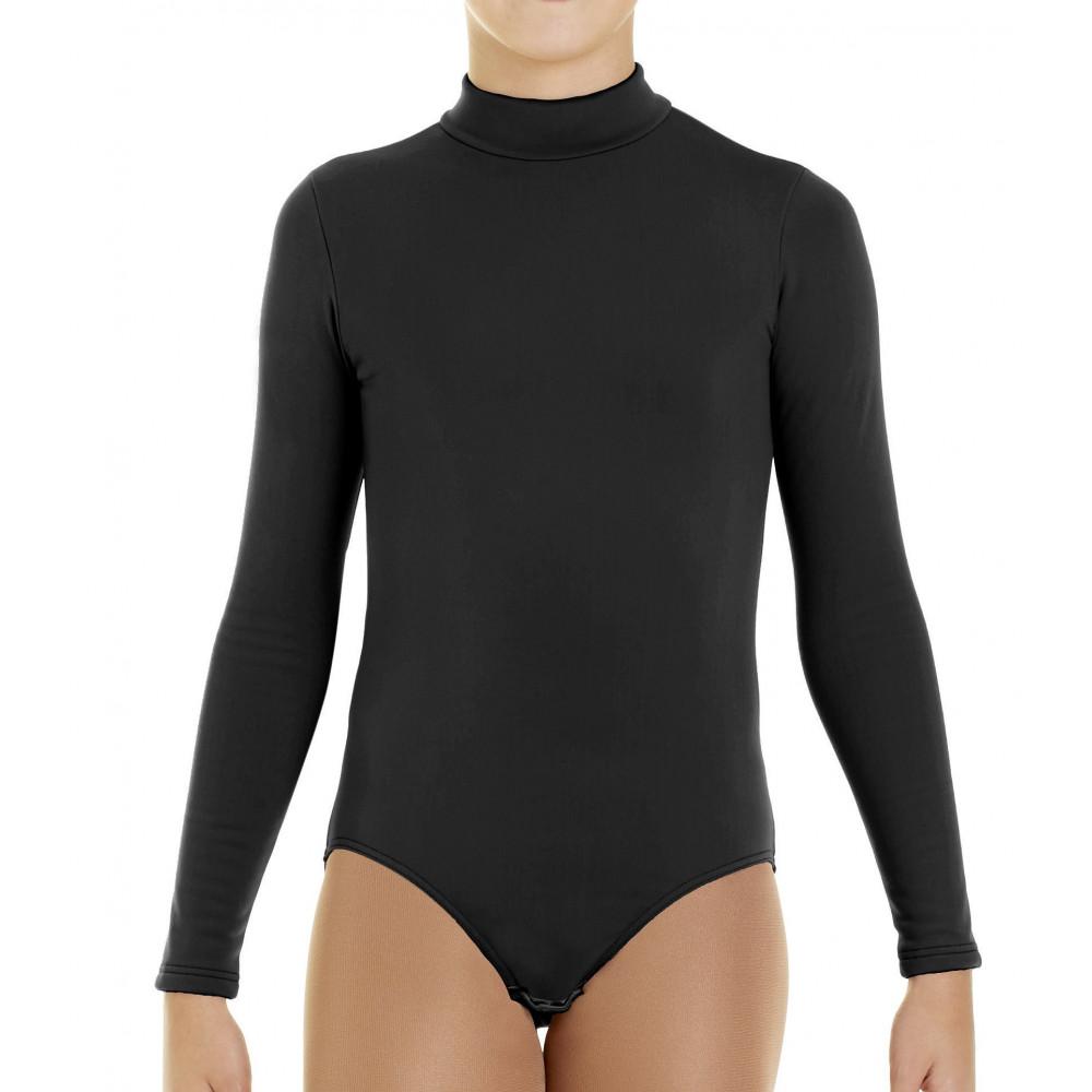 Intermezzo Eiskunstlauf Thermo-Body, schwarz