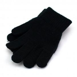 Handschuhe mit Noppen, schwarz