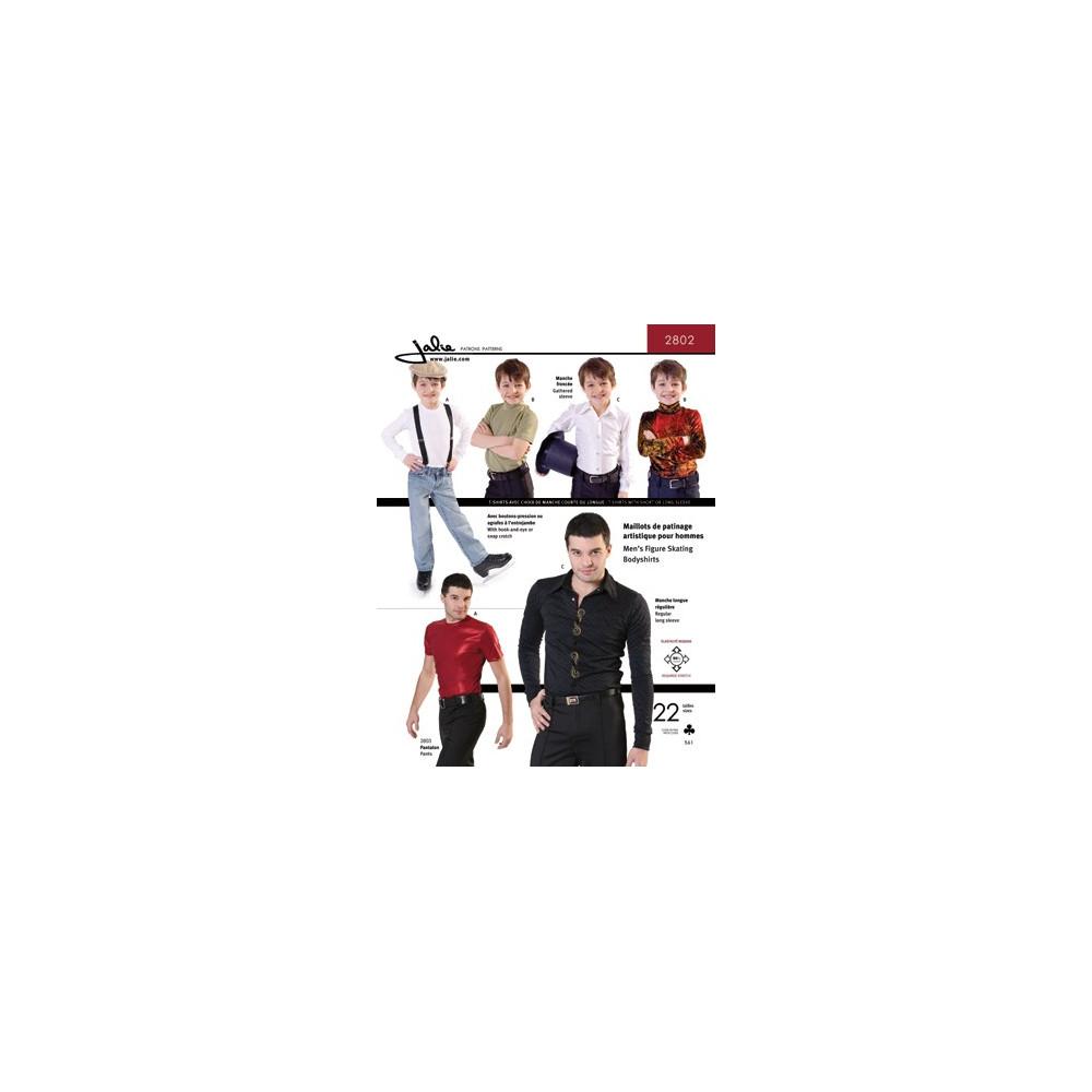 Jalie Schnittmuster Herren Bodyshirts 2802 - Ice Expression