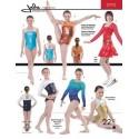 Jalie Schnittmuster Gymnastik Body 2792