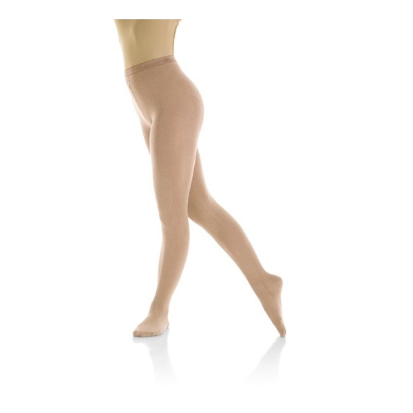 Eiskunstlauf-Strumpfhose mit Fuß (Mondor 3371 suntan)