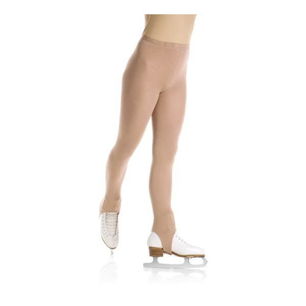 Eiskunstlauf-Strumpfhose mit Steg (Mondor 3374 suntan)
