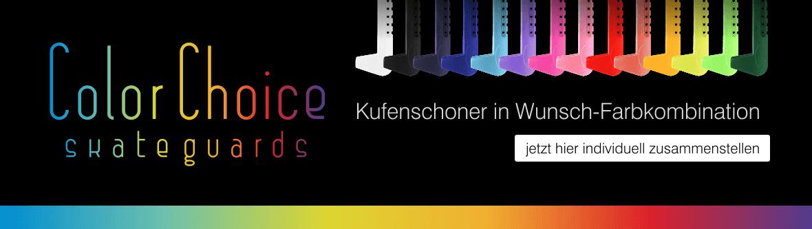 Color Choice Skateguards - Kufenschoner in Wunschfarben
