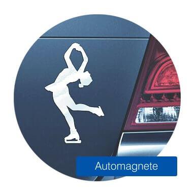 Eiskunstlauf Automagnete