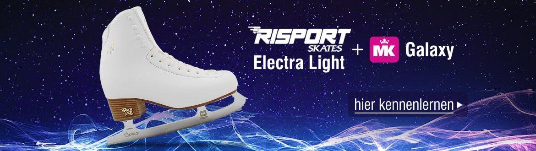 Schlittschuhe Risport Electra Light mit MK-Kufe Galaxy