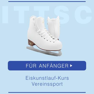 Schlittschuhe für Anfänger (Eiskunstlauf-Kurs, Vereinssport)